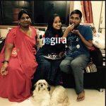 kajal raghwani family pic
