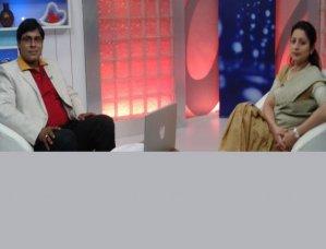 Manoj Bhawuk and Dr. Priti Tondon in Kaise Kahin