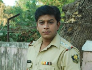 Vihal Tiwari in the role of police inspector