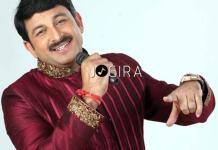 Bhojpuri Star Manoj Tiwari