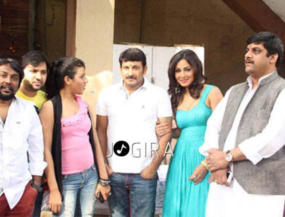 Manoj tiwari and Anand Bihari