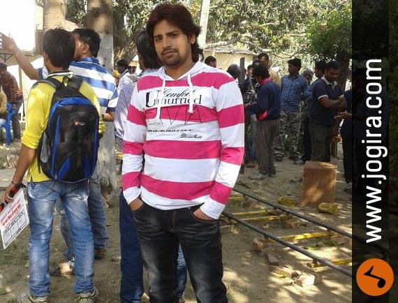 Bhojpuri actor Rakesh Mishra