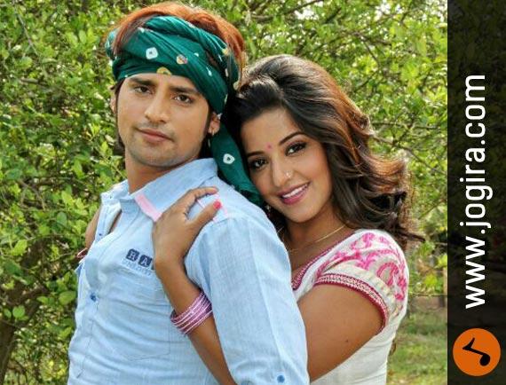 Rakesh Mishra with Monalisha