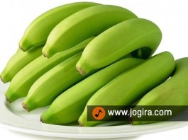 Green bananas health benefits