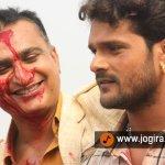 Bhojpuri actor Khesari lal in Bhojpuri film hogi pyar ki jeet