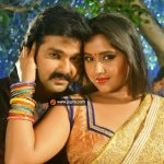 Kajal raghwani with Pawan singh wallpaper