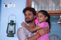 khesari lal with his daughter
