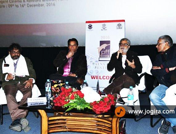 actor akhilendra mishra in patna film festival