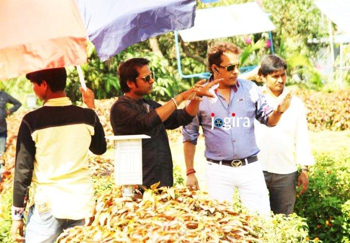 Post production of Bhojpuri film Border paar sajni hamar start