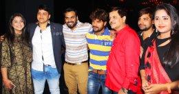 bhojpuri film producer mdhuvendra rai birthday party wallpaper