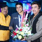 bhojpuri film producer mdhuvendra rai birthday party