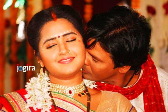 hot bhojpuri actress kajal raghwani and biraj