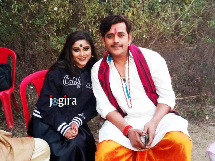 enu shree with ravi kishan