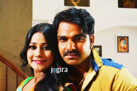 shikha mishra and pawan singh bhojpuri film dhadkan still