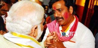प्रधानमंत्री मोदी से मिलकर भावुक हुए भोजपुरी स्टार रवि किशन