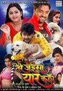 bhojpuri filmtere jaise yaar kahan poster