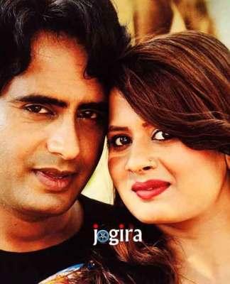 प्रीति सिंह के साथ राजवीर सिंह