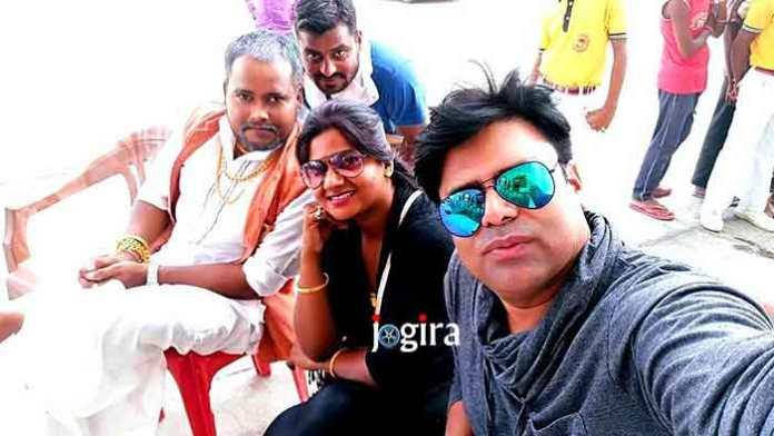 भोजपुरी फिल्म बलमा डेरिंगबाज़ की शूटिंग
