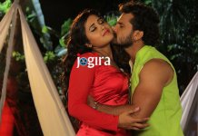 Khesari Lal Yadav and Kajal Raghwani together in Bhojpuri movie Diwanapan