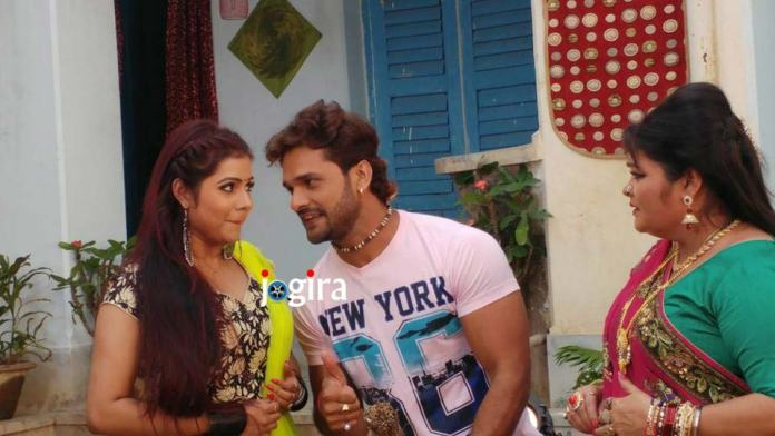 Khesarilal Yadav's Bhojpuri movie Raja Jani shooting started at Deoghar