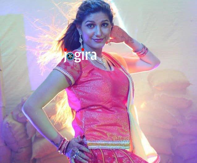 sapna choudhary shooting for item song-in bhojpuri film bairi kangana 2