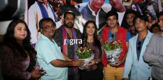 Seema Singh reached on Bhojpuri Film Banarasi pahalwan's muhurt