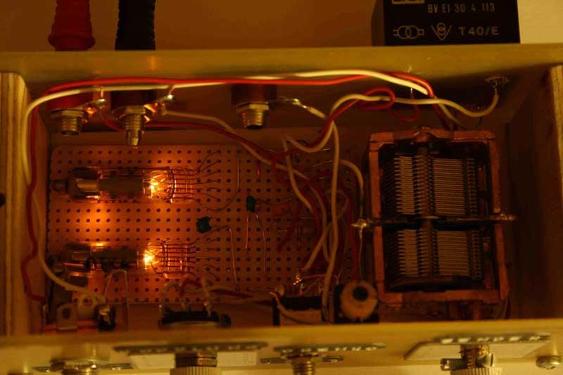 Mini Roehrenradio mit der 6SH1BW