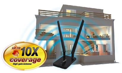 Asus USB-N14 Antena eksternal high-gain