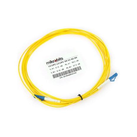 Mikrobits Patch Cable Singlemode LC-LC Simplex 5M 01