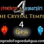 Jogos do Agua e Fogo 4 no Templo de Cristal