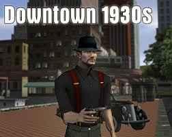 Mafia Downtown 1930s
