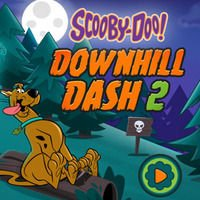 Downhill Dash 2 Scooby-Doo