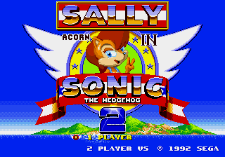 Sally Acorn in Sonic the Hedgehog 2