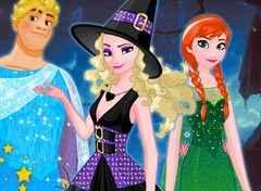 Halloween fantasias da turma FRozen