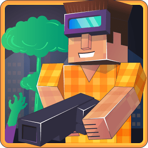 Adventure Strike 3D Pixel Saga no PC online