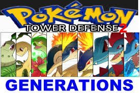 Pokémon Tower Defense 2 – Generations