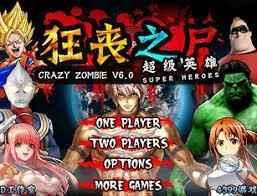 Jogar Crazy Zombie 6.0 Super Heroes Gratis Online