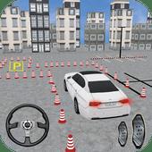 Moderno Carro Dirigir parking