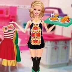 Jogar Barbie Waitress Fashion Gratis Online