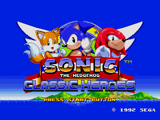 Sonic Classic Heroes