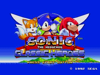 Jogar Sonic Classic Heroes Gratis Online
