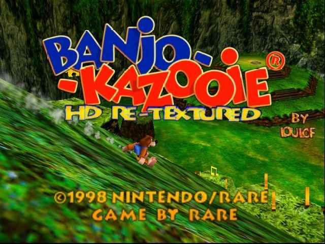 Banjo-Kazooie HD  N64