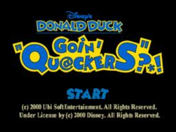 Disney's Donald Duck – Goin' Quackers