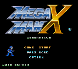 Mega Man X – Generation