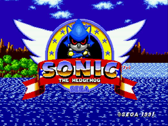 Metal Sonic in Sonic the Hedgehog (Beta)