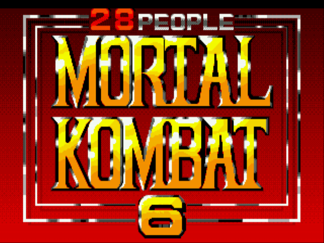 Mortal Kombat 6 28 People