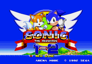 Sonic 1 and 2 Online