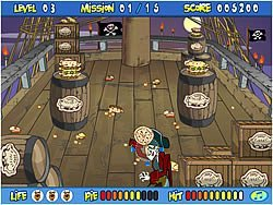 Scooby-Doo – Pirate Pie Toss