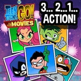 Teen Titans Go! Game – 3, 2, 1… Action!