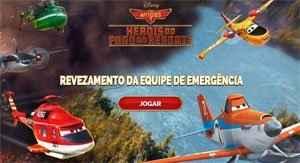 Aviões 2 – Revezamento da Equipe de Emergência